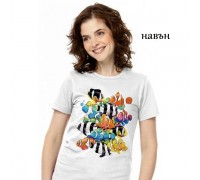 """Соларна тениска """"Риби"""", дамска"""