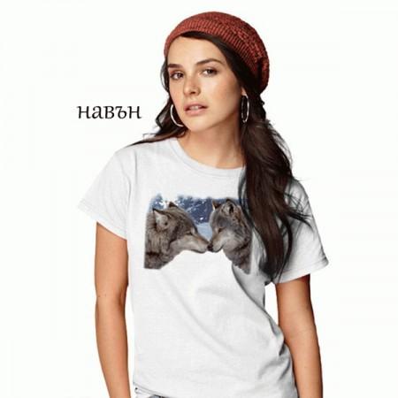 "Соларна тениска ""Вълци"", дамска"