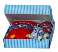 Бебешки сет в подаръчна кутия, за момче