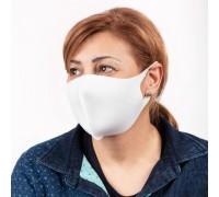Бяла неопренова маска за многократна употреба, унисекс