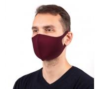 Мъжка неопренова маска за многократна употреба, Бордо, Унисекс