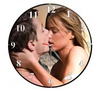 Стенен часовник с Ваша снимка, d 26 см