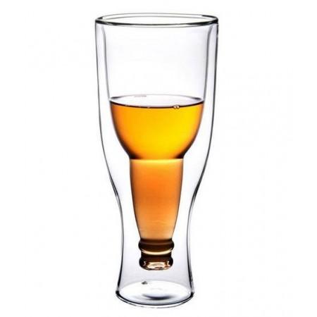 """Халба за бира """"Обърната бутилка наопаки"""""""