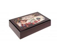 Кутия с 300 покер чипа Модиано LAS VEGAS