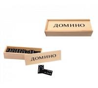 """Игра """"Домино"""" в дървена кутия"""