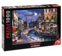 Пъзел Венецианска улица, 1000 части