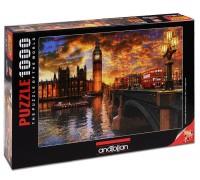 Пъзел Залез в Лондон, 1000 части