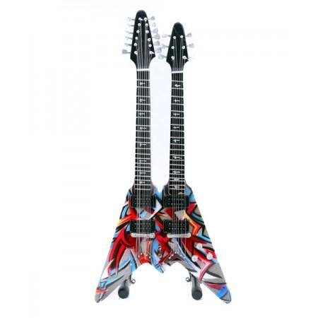 Мини двойна китара Dave Mustaine