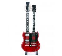 Мини двойна китара Jimmy Page (Led Zeppelin)