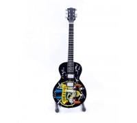 Мини колекционерска китара Guns N' Roses