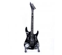 Мини китара Kirk Hammett (Oujia - черна)