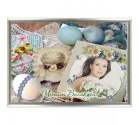 Фотоколаж за Великден в рамка с Ваша снимка, различни дизайни