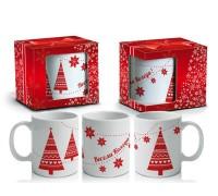 """Коледна чаша """"Весела Коледа"""""""