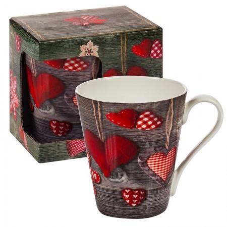 Коледна любовна чаша