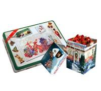 Коледен комплект - бонбони + 100 коледни късмета