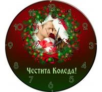 "Стенен часовник ""Коледа"""