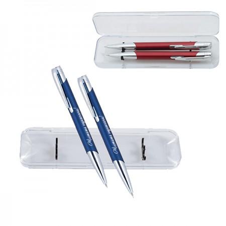 Гравиран химикал и автоматичен молив в кутия, с Ваш надпис