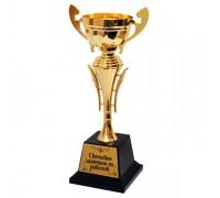 Златна купа за Световен шампион по риболов