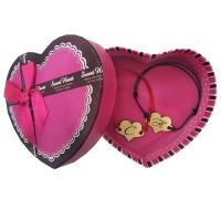 Гривни за влюбени с буква, в подаръчна кутия!