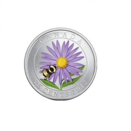 """""""Цветна пролет"""", монета от мед и никел"""