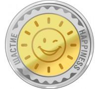 """Паричка """"Щастие"""", със златно и сребърно покритие"""