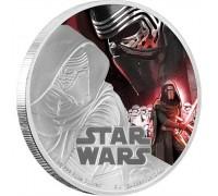 """""""Star Wars"""", сребърна монета"""