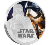 """Star Wars"", сребърна монета, Капитан Фазма"