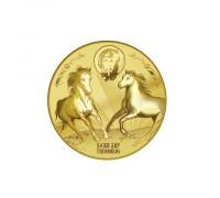 """""""Свети Тодор"""", медал, с цялостна позлата"""