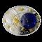 """""""Зодиакални знаци-Рак"""", сребърна монета"""