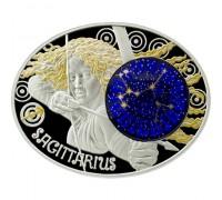 """Зодиакални знаци-Стрелец"", сребърна монета"