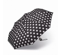 """""""Черен с бели точки"""" чадър на  Pierre Cardin, дамски"""