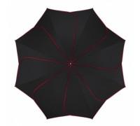 """""""Черен с червени кантове"""" чадър на Pierre Cardin, дамски"""