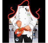"""Оригинална престилка за готвене """"Готвач"""""""